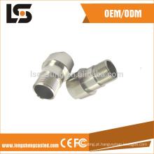 Fabricante personalizado peças de fundição de alumínio trocados