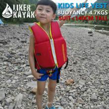 210d Terylene Oxford Têxtil EPE Espuma Polietileno Inflatabl Lifevest No Ce para Crianças