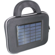 Nice design sunpowered solar tablet bag with 2200mah battery