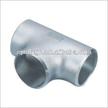 Acessórios para tubos forjados astm ss304 T igual em aço inoxidável