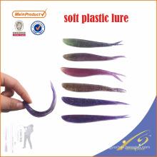 SLL023 várias cores artificial isca isca de pesca isca soft isca