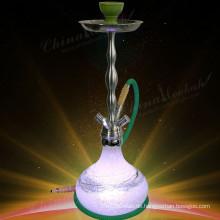 Kaufen Sie LED Knistern Glas Vase Huka, Shisha, Nargile, China Huka Fabrik, günstigen Preis, hohe Qualität, HL364