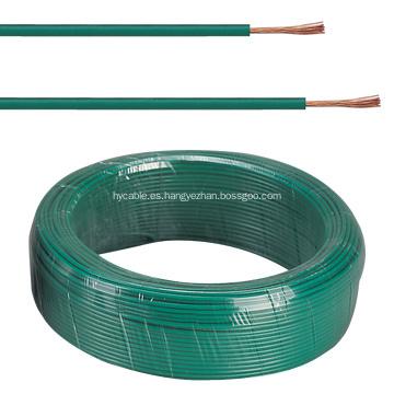 Alambre de aluminio recubierto de PVC, cable eléctrico aislado de PVC