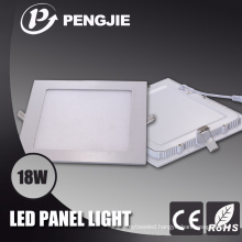 High Power 18W LED Panel Light with CE (Square)