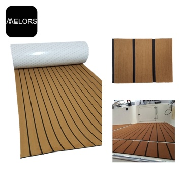 Melors Faux Teak Boat Synthetic Surfboard Deck Pad