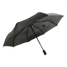 paraguas con estampado de logo de mujer completamente automático