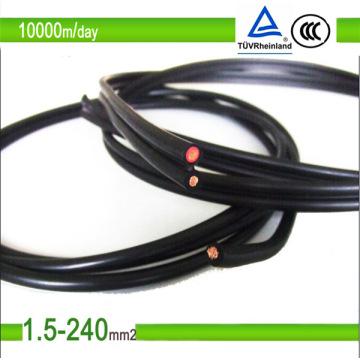 Устойчивый к TUV Mc4 PV солнечный кабель / кабель для солнечных батарей постоянного тока 4 мм2