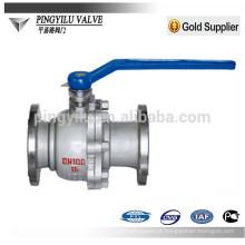 China que produz a válvula de esfera de aço fundida dn40 Q41F / H-16/25/40 / 64C com alta qualidade melhor do que wenzhou