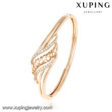 50947 Xuping dernière conception plaqué or bracelet