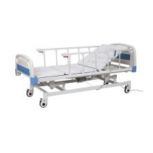 Lit de soins médicaux de lit d'hôpital électrique/manuel d'ABS