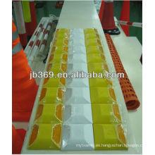 perno de carretera de alta calidad amarillo / blanco para la seguridad del tráfico