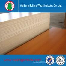 Both Side Wood Grain Melamine MDF 17mm