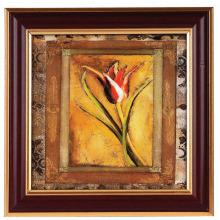 Braun mit goldenen traditionelle Foto Bilderrahmen