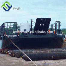 Passenger ship / boat landing & launching rubber airbag marine airbag