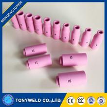 Tocha de soldagem tig 10N parafusos de cerâmica tamanho 8 10 12
