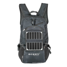 High quality solar backpack for camping&Hiking portable cell phone solar power charger