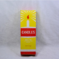 40g White Candle Yellow Box ke Ghana