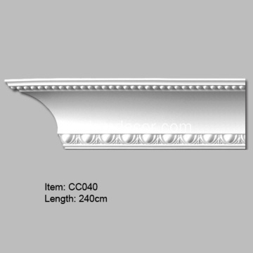 Europeiska design PU-cornice Crown-gjutning