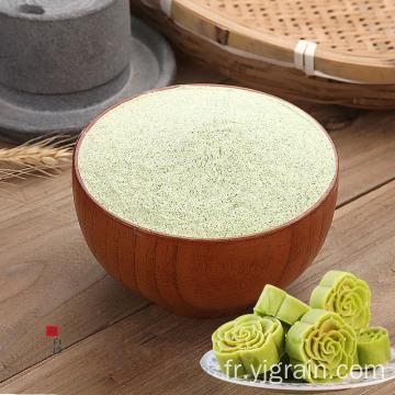 Matières premières en poudre de haricot vert en gros