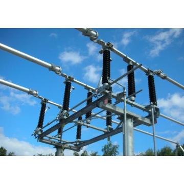Interruptor de desconexão de corte central de 138 kV Subsector de isolador de subestação (GW7B-145)