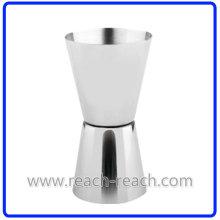 Jigger, Shot Glass, Stainless Steel Cup Match Hip Flask (R-HF054)
