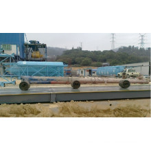 Truck Scale 3X12m 60ton installled Construction Company