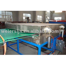 PC/PP/PE hollow grid board production line
