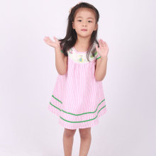 children wholesale smocked golf embroidered dresses
