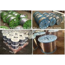 Embalagem de carretel Fosfatado ou revestido de zinco Fio de aço de alta tensão