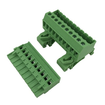 10pin 5,08 mm Abstand 35 mm Din Rail Klemmenblock