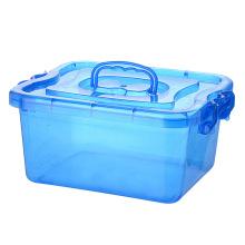 Современный стиль пластиковый ящик для хранения с ручкой (SLSN068)