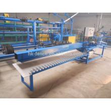 semi-auto 2 m width chain link fence machine exporter