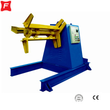 Máquina de bobina hidráulica de aço cor