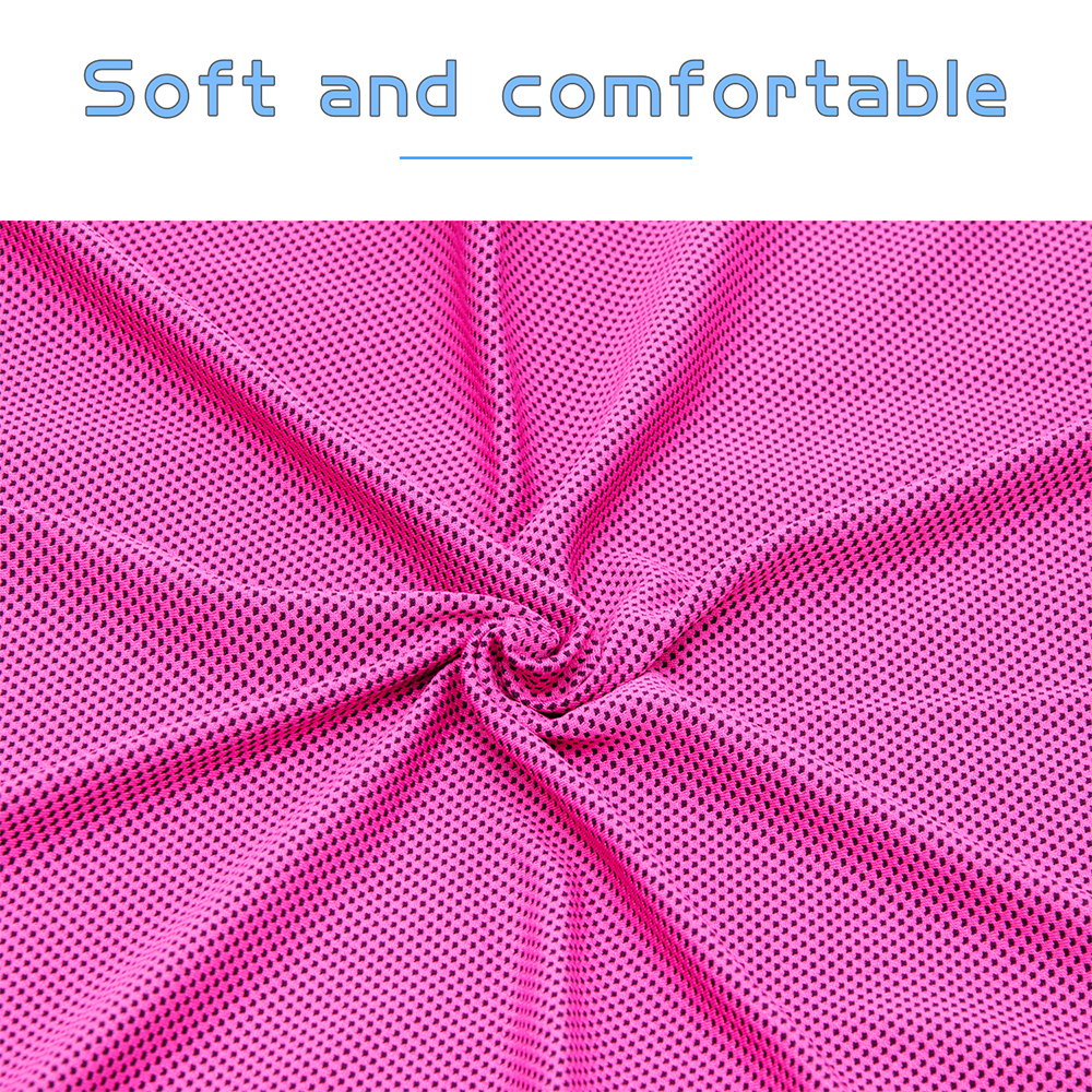 Soft and Comfortable cooling towel RED
