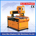 Рекламная древесины Гравировальный станок с ЧПУ маршрутизатор эле-6090 с ЧПУ
