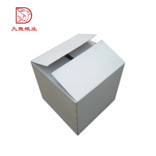 Manufacturer high quality cheap white custom corrugated box