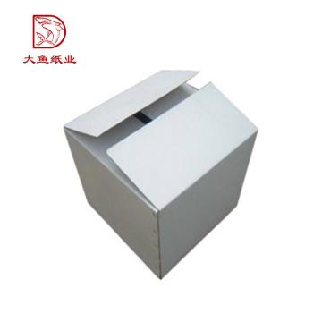 Qualitäts-preiswerter weißer kundenspezifischer Wellpappenkasten des Herstellers