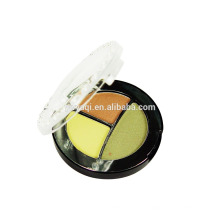 Private Label Mineral Make-up Hersteller 3 Farben Lidschatten
