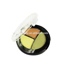 Private etiqueta Mineral maquillaje fabricantes 3 colores sombra de ojos