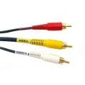 Câble audio et vidéo composite