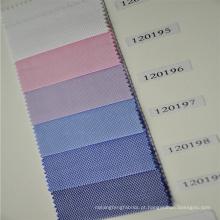 tecidos leves da camisa de algodão da cor, tela da camisa dos homens, tela da camisa 100/2