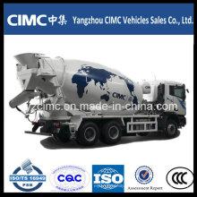 C & C 6 * 4 12cbm Euro 3 Camión mezclador de cemento
