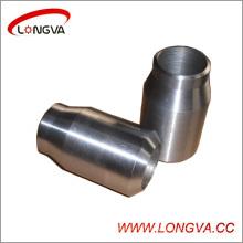Reductor de soldadura concéntrica de acero inoxidable