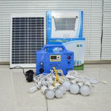 Portable 30W Solar Lighting System
