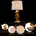 Good Price Hotel Home Decoration Minimalist Fabric Covering Table Lamp