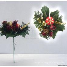 Plástico Decorativo 3d Navidad adornos Navidad recoge