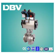 Elektrisch betriebene V-Typ Kugelhähne