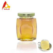 Honey jar packing natural linden honey