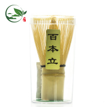 Bamboo Whisk Chasen y Matcha Measuring Mental Spoon Set