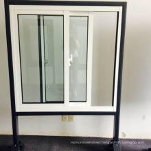 Topbright New Vinyl UPVC Sliding Window with Reflected Glass